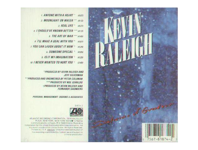 Kevin Raleigh Back Cover