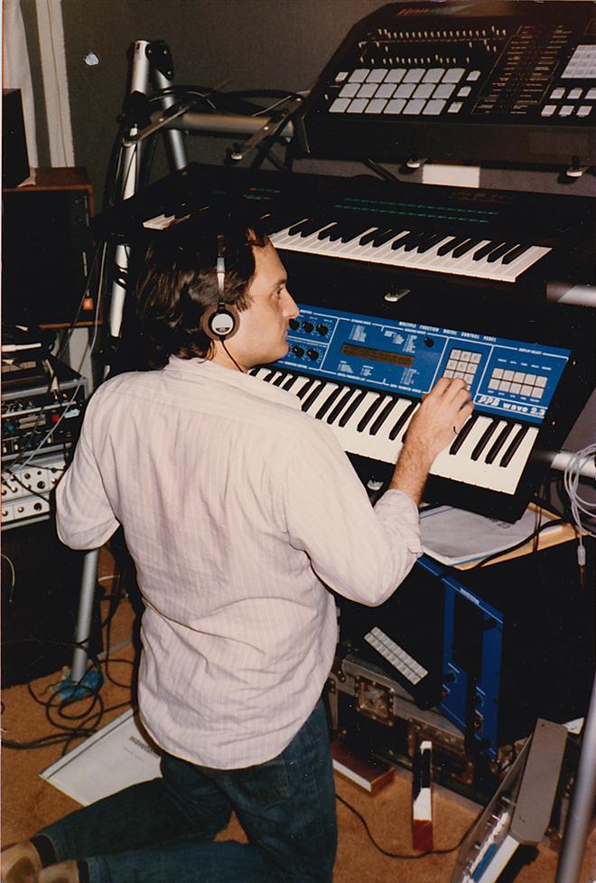John Phillip Shenale Working on