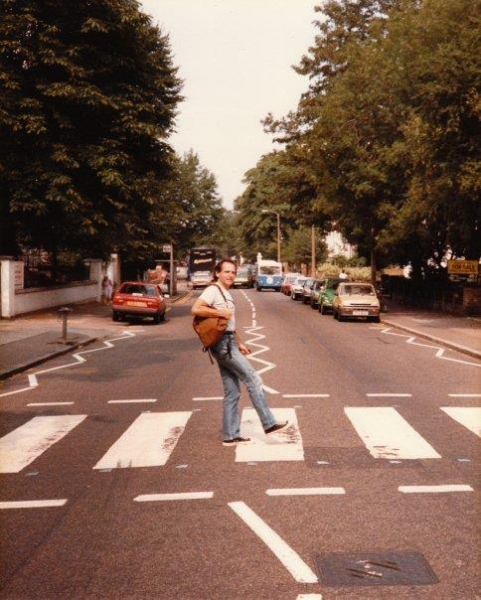 I couldn\'t help myself...Abby Road