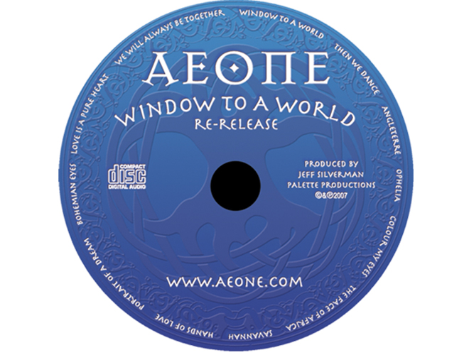 Aeone - Window To A World - CD