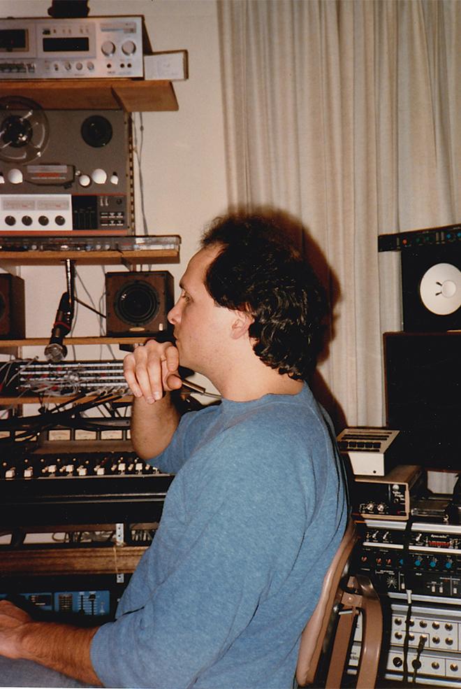 Jeff Silverman Working on
