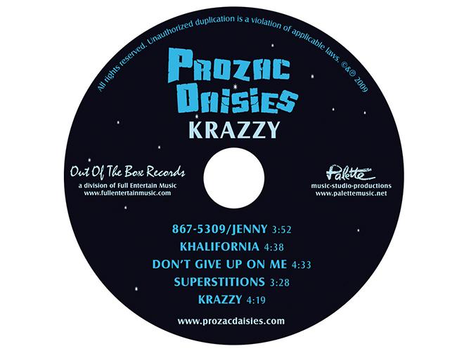Prozac Daisies CD